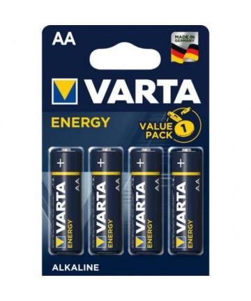 BLISTER 4 PILAS ALCALINAS AA ENERGY