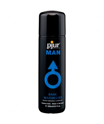 PJUR MAN BASIC LUBRICANTE BASE AGUA 250 ML