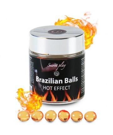 SECRET PLAY TARRO 6 BRAZILIAN BALLS EFECTO CALOR