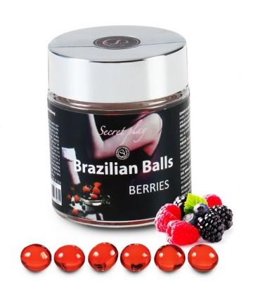 SECRET PLAY TARRO 6 BRAZILIAN BALLS FRUTAS DEL BOSQUE