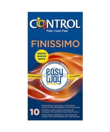PRESERVATIVOS CONTROL FINISSIMO EASY WAY 10UDS