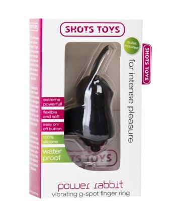 POWER RABBIT VIBRADOR MANUAL NEGRO