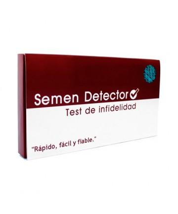 VERIFICA SEMEN DETECTOR TEST DE INFIDELIDAD