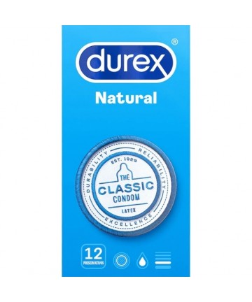 DUREX NATURAL 12 UDS