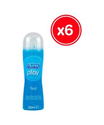 DUREX PLAY FEEL 50 ML 6 UDS