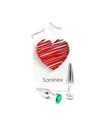 SANINEX PLUG METAL DIRECT PLEASURE DIAMOND COLORES SURTIDOS