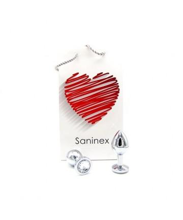 SANINEX PLUG METAL INTENSE ORGASMIC DIAMOND