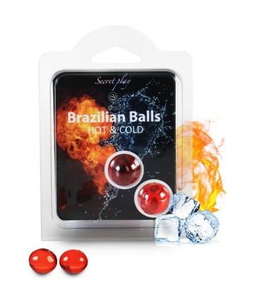 SECRET PLAY SET 2 BRAZILIAN BALLS FRiO CALOR
