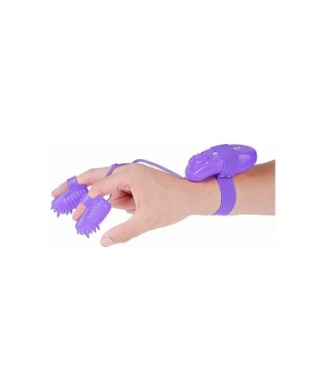 MAGIC TOUCH FINGER FUN ESTIMULADOR DEDAL MORADO