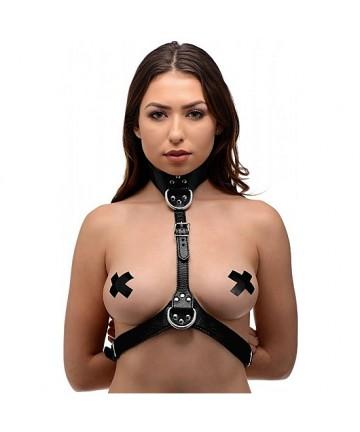 ARNeS FEMENINO BDSM NEGRO