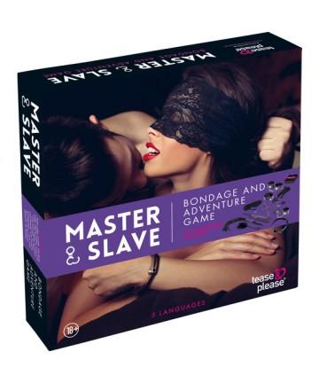 MASTER SLAVE KIT BDSM PARA PAREJAS MORADO