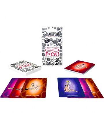 KHEPER GAMES GO FUCK CARD JUEGO DE CARTAS
