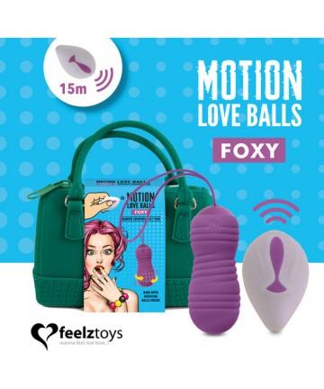 FEELZTOYS MOTION LOVE BALLS FOXY
