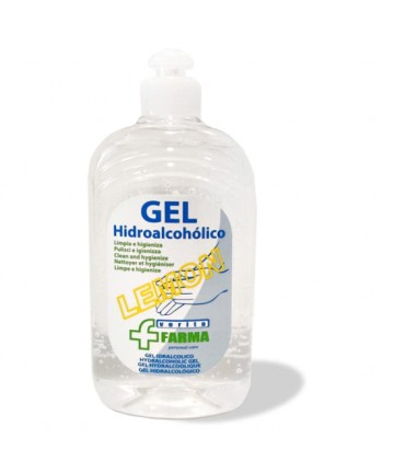 GEL HIDROALCOHoLICO LEMON 500ML