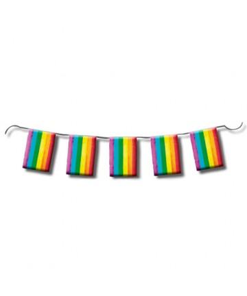 TIRA DE BANDERAS ORGULLO LGBT 10M